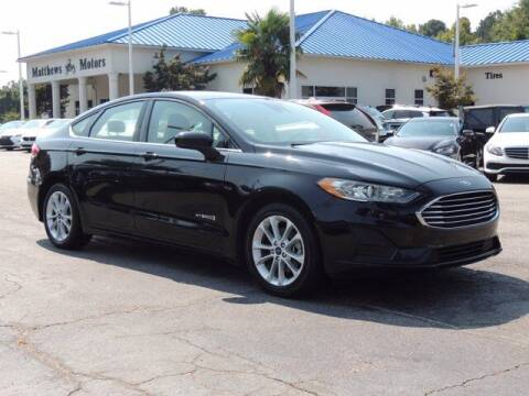 2019 Ford Fusion Hybrid for sale at Auto Finance of Raleigh in Raleigh NC