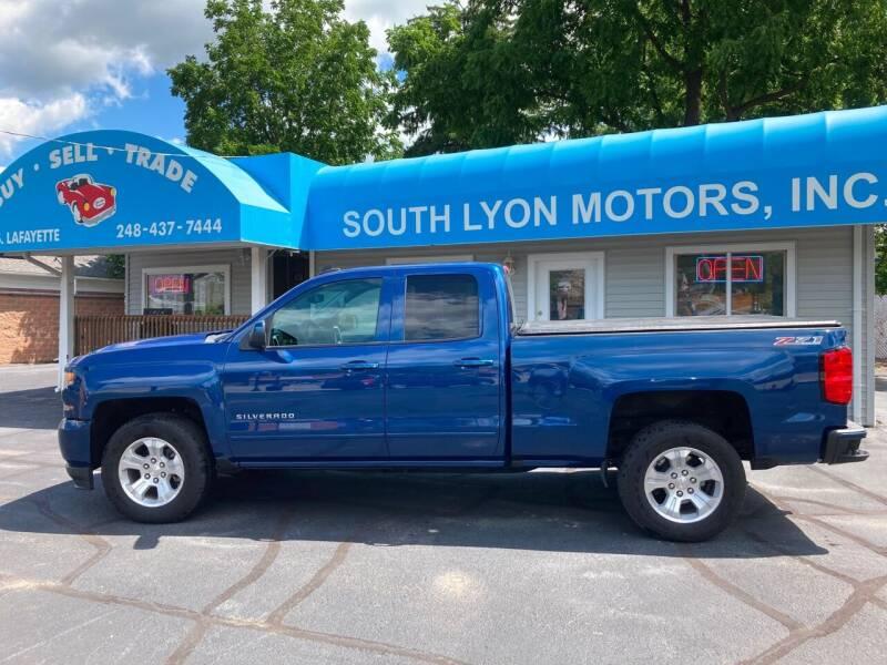 2017 Chevrolet Silverado 1500 for sale at South Lyon Motors INC in South Lyon MI