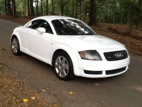 2002 Audi TT for sale at Roadtrip Carolinas in Greenville SC