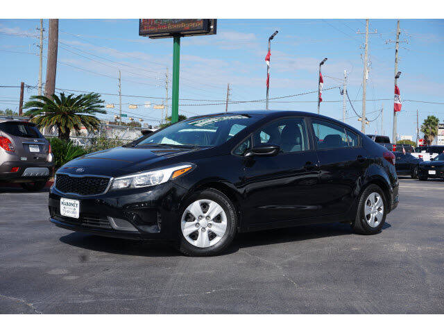 2018 Kia Forte for sale at Maroney Auto Sales in Humble TX