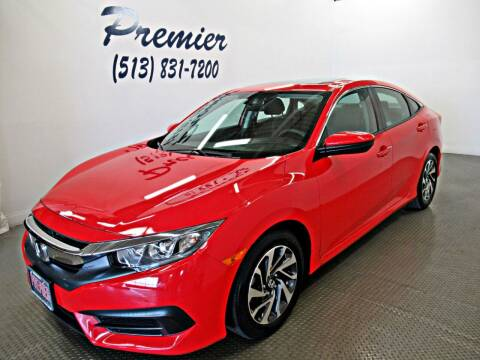 2017 Honda Civic for sale at Premier Automotive Group in Milford OH