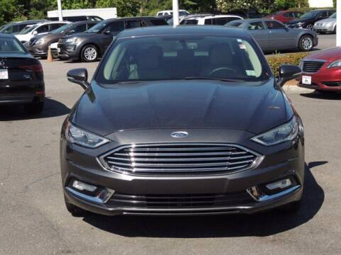 2017 Ford Fusion for sale at Auto Finance of Raleigh in Raleigh NC