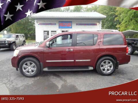 2010 Nissan Armada for sale at PROCAR LLC in Portland TN
