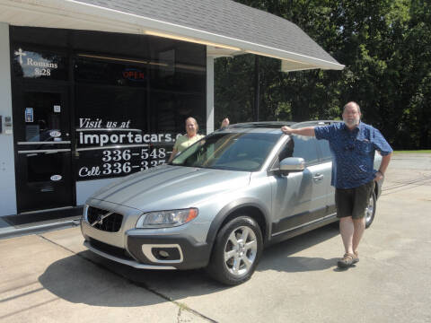2008 Volvo XC70 for sale at importacar in Madison NC