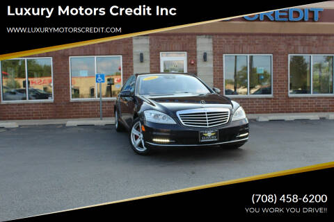 2010 Mercedes-Benz S-Class for sale at Luxury Motors Credit Inc in Bridgeview IL