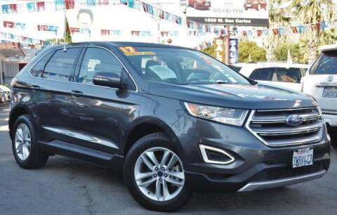 2017 Ford Edge for sale at AMC Auto Sales, Inc in San Jose CA