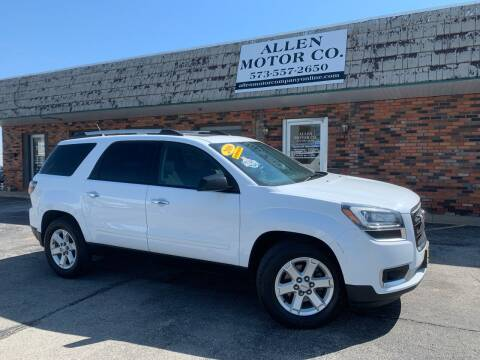 2016 GMC Acadia for sale at Allen Motor Company in Eldon MO
