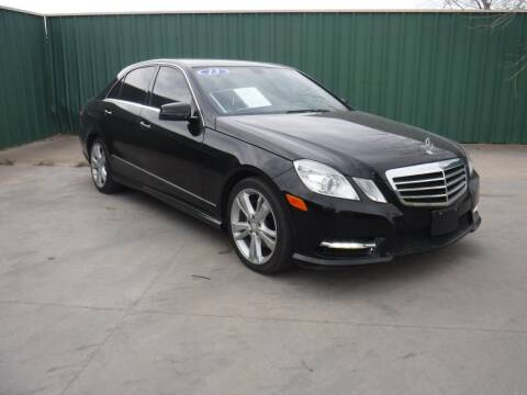 2013 Mercedes-Benz E-Class for sale at Triple C Auto Sales in Gainesville TX