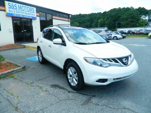2012 Nissan Murano for sale at S & S Motors in Marietta GA