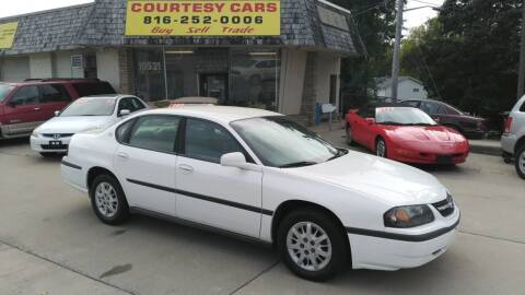 2003 Chevrolet Impala for sale at Courtesy Cars in Independence MO