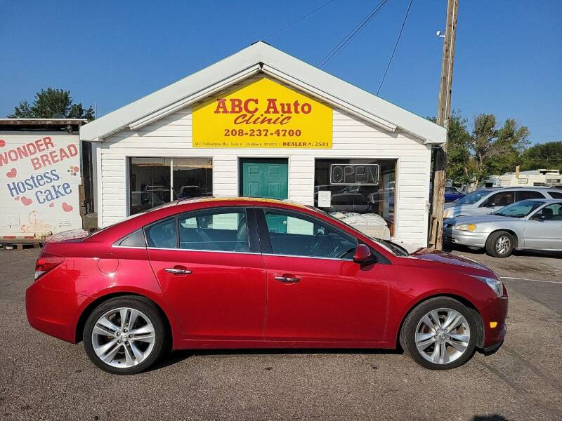 2011 Chevrolet Cruze for sale at ABC AUTO CLINIC in Chubbuck ID