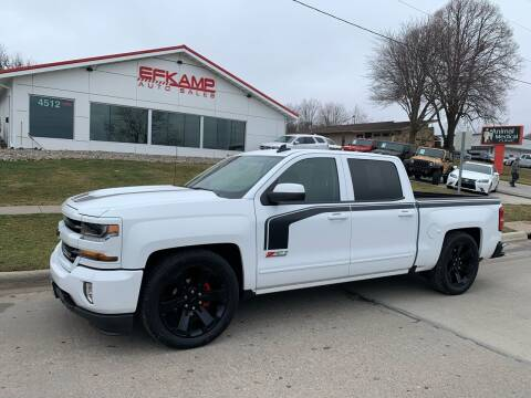 2017 Chevrolet Silverado 1500 for sale at Efkamp Auto Sales LLC in Des Moines IA