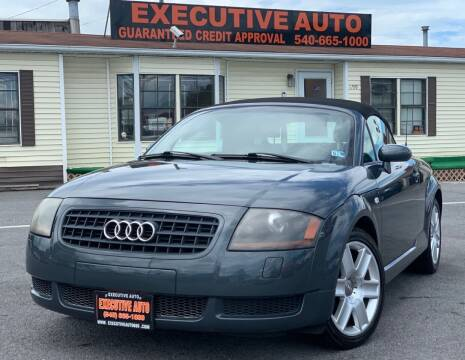 2003 Audi TT for sale at Executive Auto in Winchester VA