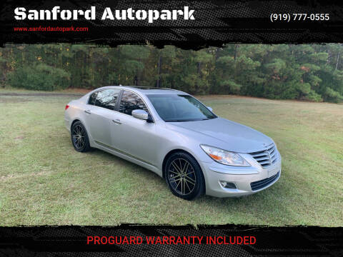 2009 Hyundai Genesis for sale at Sanford Autopark in Sanford NC