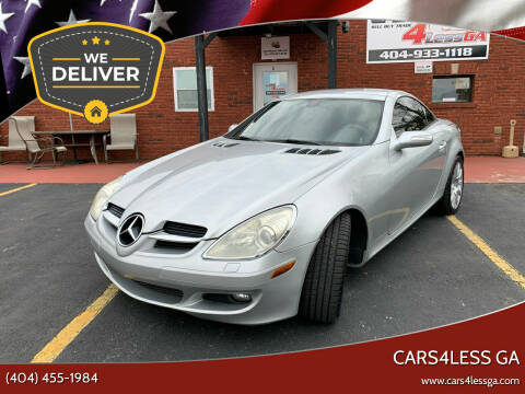 2006 Mercedes-Benz SLK for sale at Cars4Less GA in Alpharetta GA