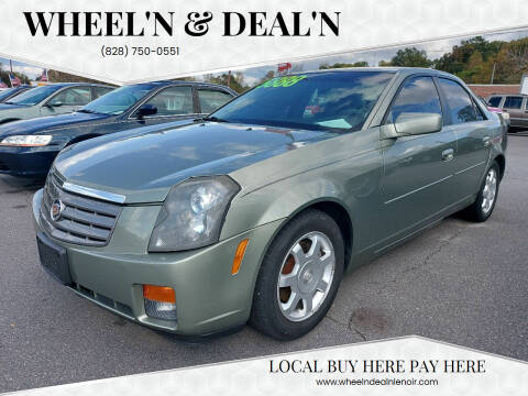 2004 Cadillac CTS for sale at Wheel'n & Deal'n in Lenoir NC