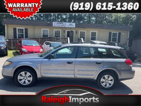 2008 Subaru Outback for sale at Raleigh Imports in Raleigh NC