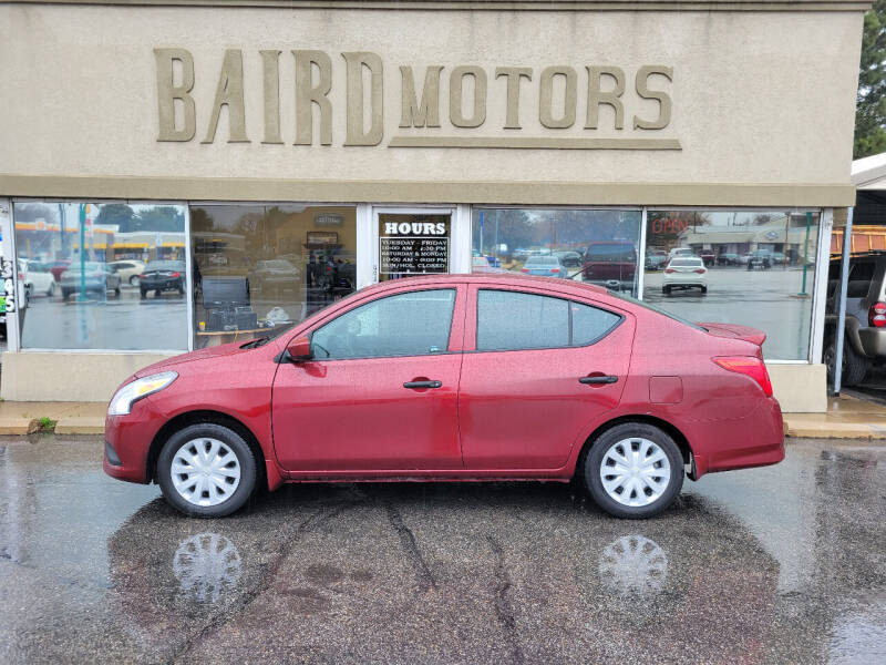 2017 Nissan Versa for sale at BAIRD MOTORS in Clearfield UT
