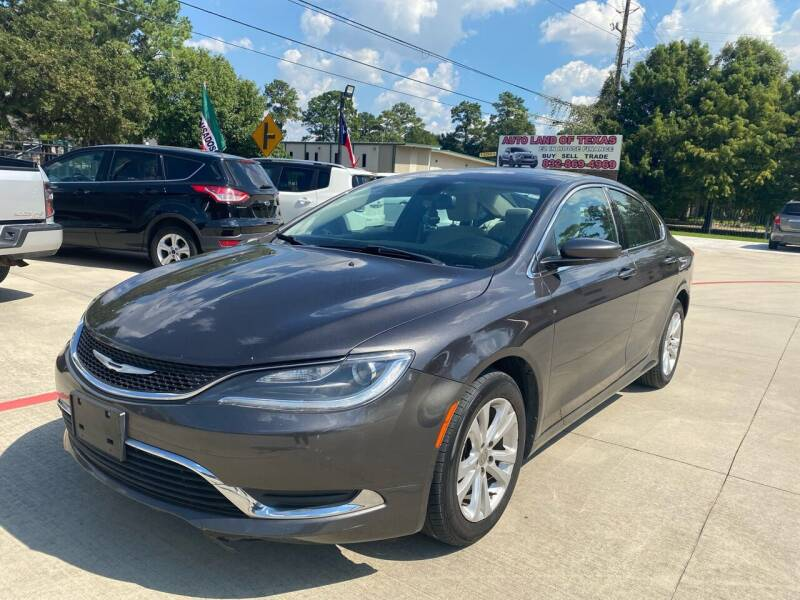 2016 Chrysler 200 for sale at Auto Land Of Texas in Cypress TX