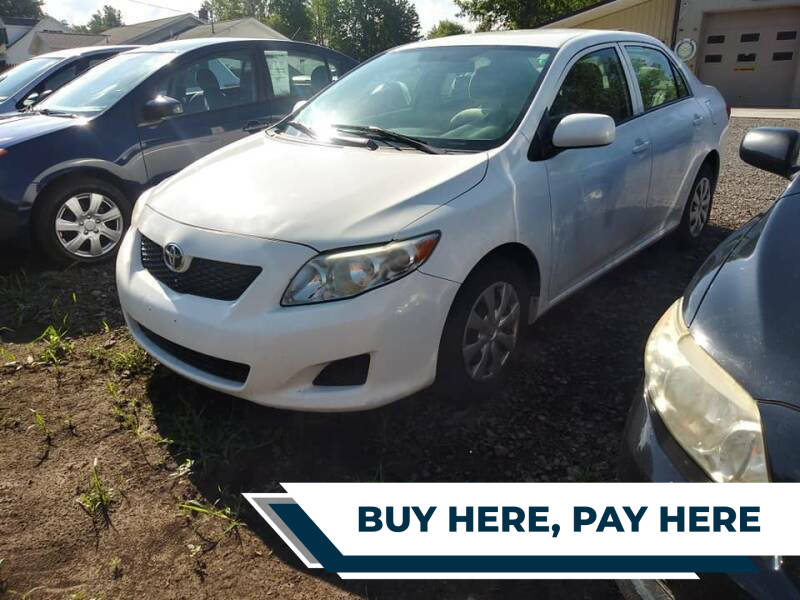 2010 Toyota Corolla for sale at John's Auto Sales & Service Inc in Waterloo NY