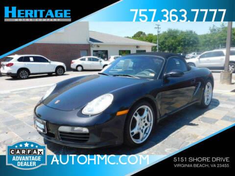 2005 Porsche Boxster for sale at Heritage Motor Company in Virginia Beach VA