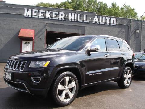 2014 Jeep Grand Cherokee for sale at Meeker Hill Auto Sales in Germantown WI