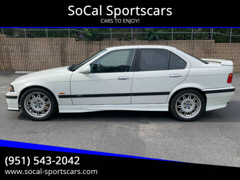1997 BMW M3 for sale at SoCal Sportscars in Covina CA