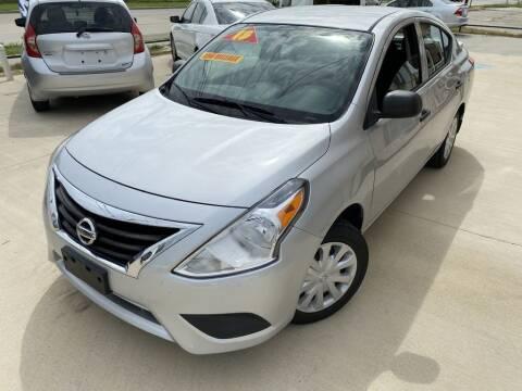 2015 Nissan Versa for sale at Raj Motors Sales in Greenville TX
