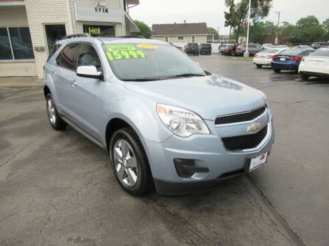 2014 Chevrolet Equinox for sale at Auto Land Inc in Crest Hill IL