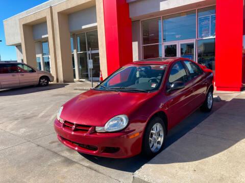 2002 Dodge Neon for sale at Thumbs Up Motors in Warner Robins GA