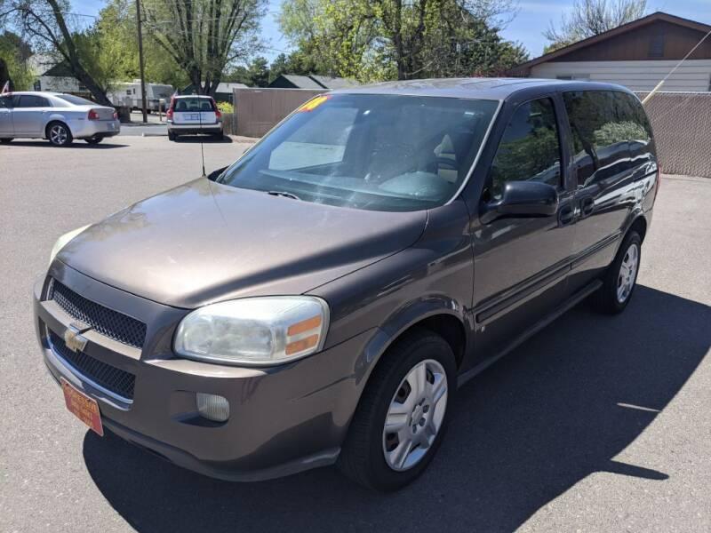 2008 Chevrolet Uplander for sale at Progressive Auto Sales in Twin Falls ID