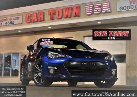 2013 Subaru BRZ for sale at Car Town USA in Attleboro MA