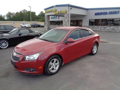 2012 Chevrolet Cruze for sale at KARS R US of Spartanburg LLC in Spartanburg SC