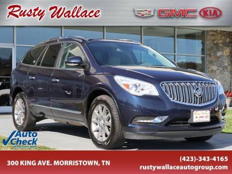 2017 Buick Enclave for sale at RUSTY WALLACE CADILLAC GMC KIA in Morristown TN