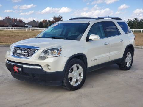 2008 GMC Acadia for sale at Chihuahua Auto Sales in Perryton TX
