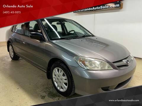 2005 Honda Civic for sale at Orlando Auto Sale in Orlando FL