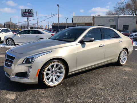 2014 Cadillac CTS for sale at SKY AUTO SALES in Detroit MI