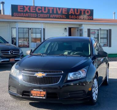 2011 Chevrolet Cruze for sale at Executive Auto in Winchester VA