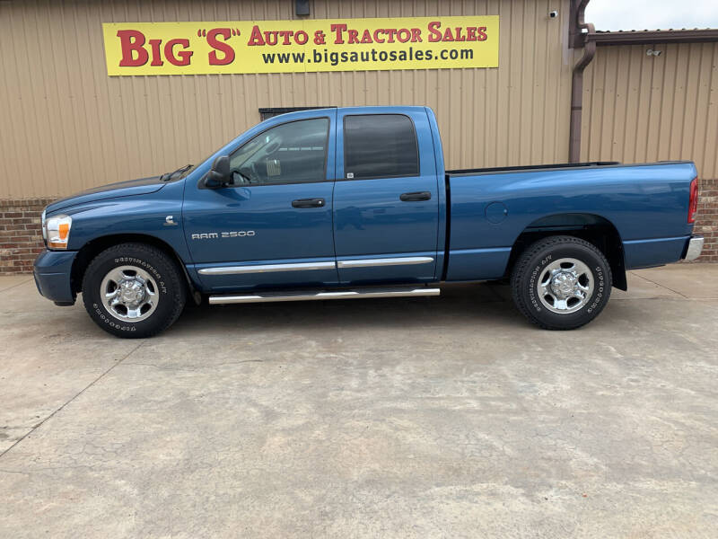 2006 Dodge Ram Pickup 2500 for sale at BIG 'S' AUTO & TRACTOR SALES in Blanchard OK