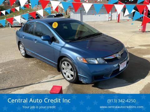 2009 Honda Civic for sale at Central Auto Credit Inc in Kansas City KS