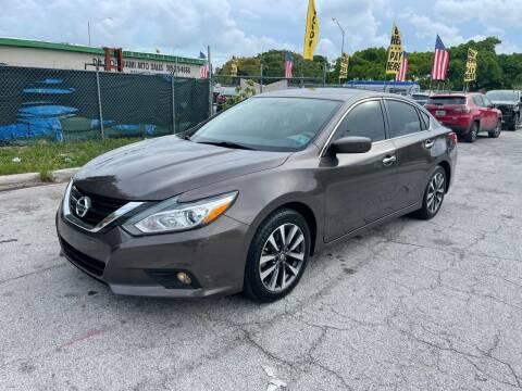 2017 Nissan Altima for sale at D & P OF MIAMI CORP in Miami FL