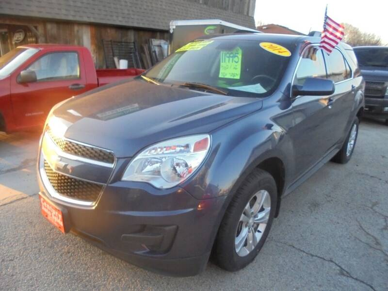 2014 Chevrolet Equinox for sale at Century Auto Sales LLC in Appleton WI