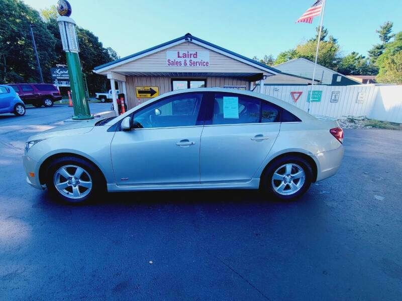2013 Chevrolet Cruze for sale at LAIRD SALES AND SERVICE in Muskegon MI