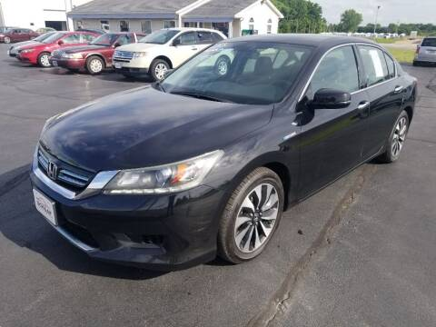 2014 Honda Accord Hybrid for sale at Larry Schaaf Auto Sales in Saint Marys OH