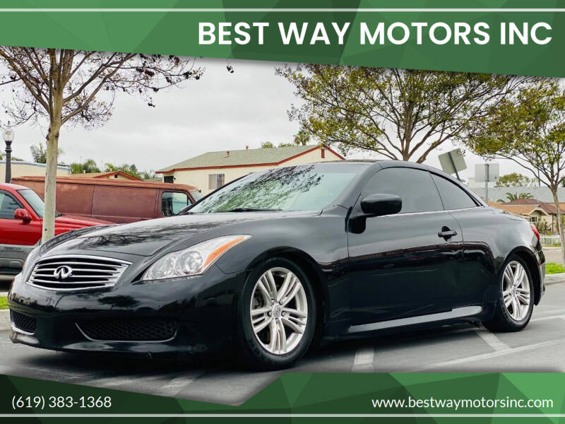 2010 Infiniti G37 Convertible for sale in San Diego, CA