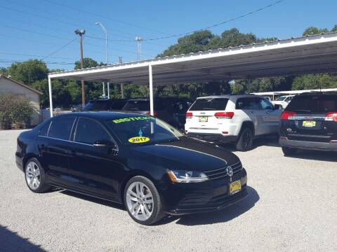 2017 Volkswagen Jetta for sale at Bostick's Auto & Truck Sales in Brownwood TX