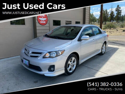 2011 Toyota Corolla for sale at Just Used Cars in Bend OR