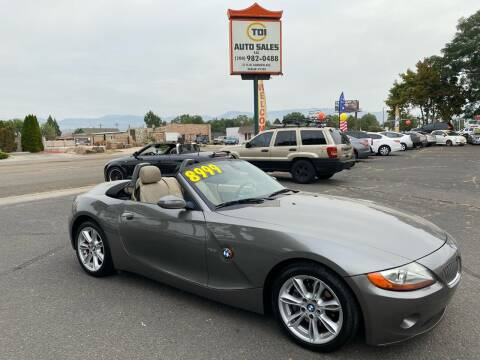 2004 BMW Z4 for sale at TDI AUTO SALES in Boise ID