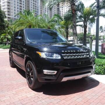 2015 Land Rover Range Rover Sport for sale at Choice Auto in Fort Lauderdale FL