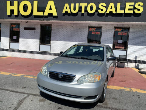 2007 Toyota Corolla for sale at HOLA AUTO SALES CHAMBLEE- BUY HERE PAY HERE - in Atlanta GA